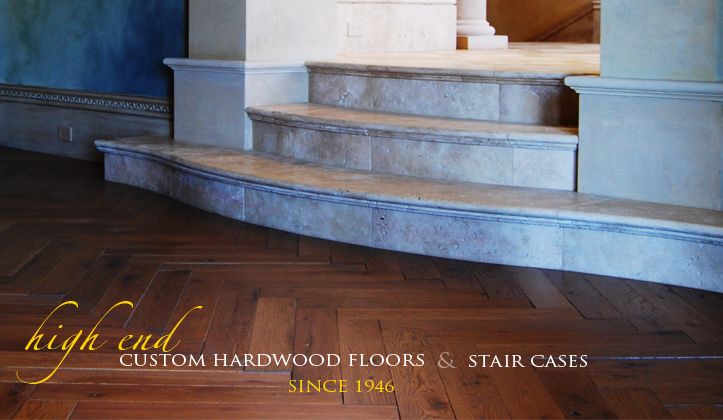 High end custom hardwood floors and staircases for High end hardwood flooring